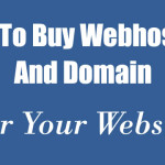 How To Buy Webhosting & Domain For Your Website