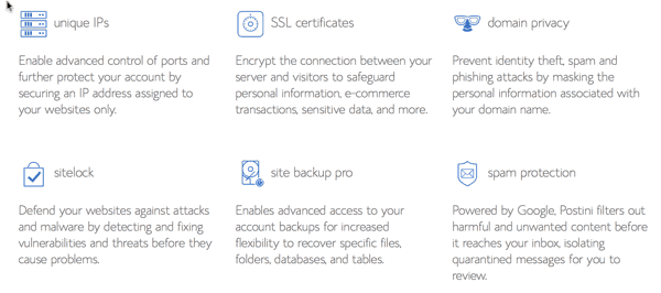 Bluehost Business Pro package