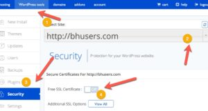 How To Install Free SSL Certificate on Bluehost & Move WordPress Site to HTTPS